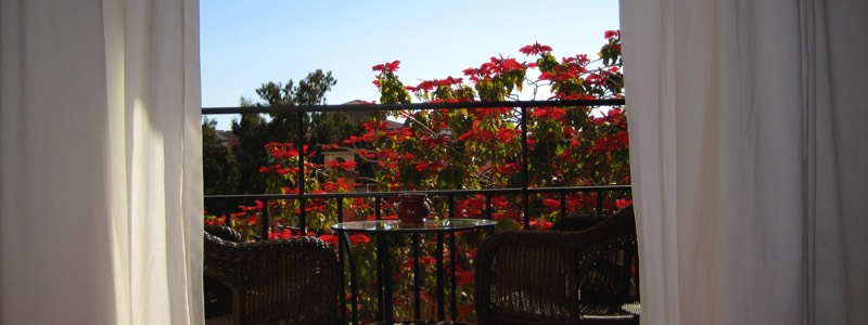 Balcony hotel California Spain
