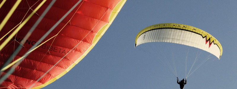 Paragliders hotel California Spain